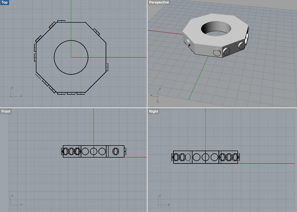 screen capture of 3D model of a single disc